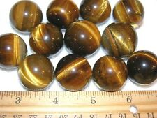 Tigers eye sphere polished all natural 1 inch diameter (1) one sphere lot