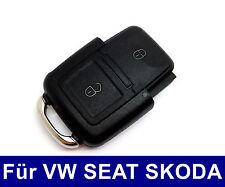 2T Klappschlüssel Gehäuse für VW GOLF TOURAN PASSAT SEAT LEON SKODA BORA
