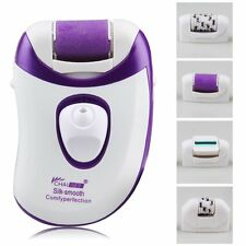 4 Heads Rechargeable Depilator Body Hair Removal Epilator Callus Remover Shaver