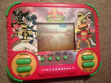 VINTAGE LCD GAME - POWER RANGERS TIGER ELECTRONIC  - COMPLETE  - TESTED WORKING