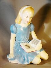 Royal Doulton Bone China Figurine of Alice HN258 Painter's Initial B