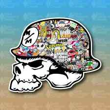 "Metal Mulisha Stickerbomb Sticker Bomb 5"" Custom Vinyl Decal Sticker JDM"