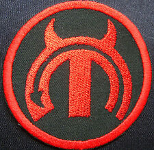 mopar style racing devil horn dodge style racing patch Iron or Sew On