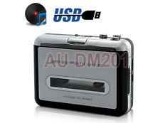 Portable Cassette Tape Player With USB To PC Digital Audio Converter
