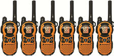 6 Motorola MT350R FRS GMRS 2-WAY Radio Walkie Talkie Ni-MH Weather VOX Vibracall