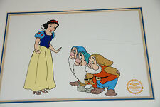 SNOW WHITE LIMITED EDITION SERIGRAPH CEL FRAMED