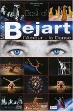 1300 // L'AMOUR LA DANSE LE BEST OF DE MAURICE BEJART DVD NF