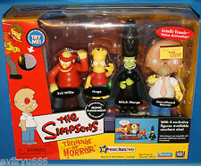 THE SIMPSONS THOH IRONIC PUNISHMENT BOXED SET NEW MIB DONUTHEAD HOMER, WILLIE...