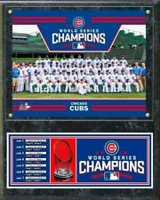 Chicago Cubs 2016 World Series Champions 12x15 Team Plaque MLB Hologram