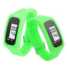 Run Step Walking Distance Digital Pedometer Calorie Counter Watch Bracelet Y4