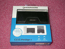 Marware ABCP11 Leather Hip Case for iPhone 4/4S + Bonus Clear Shell Case (Black)