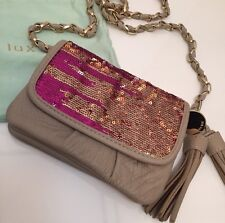 Deux Lux Cosmic Love Sequin Crossbody Bag Handbag $88
