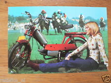 KREIDLER AUTOMATIC MP3 RED TECHNICAL INFOCARD/POSTCARD  BROMFIETS,MOPED,MOFA