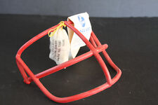 Schutt Vintage Football Helmet Facemask NOPO Red New Condition 70's w/ hardware!