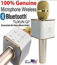 TUXUN Q7 Microphone Wireless Handheld Portable Karaoke For Computer Smartphone