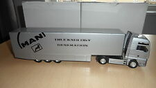 MAN TG 460 A XXL TRUCK AND TRAILER SILVER CONRAD NO. 6604/01 1/50