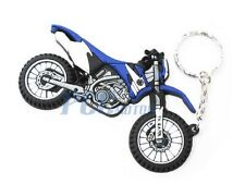 Motocross Dirt Bike Rubber Key Chain Keychain Yamaha WR TTR ATV Dirt Bike V KC04