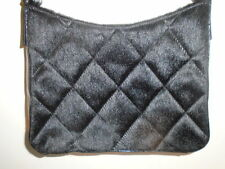roots  NWOT SAKS FIFTH AVE ELEGANT QUILTED FAUX FUR EVENING BAG PURSE  $375 RETL