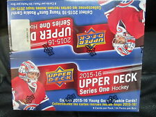 2015-16 UPPER DECK SERIES 1 HOCKEY RETAIL SEALED 20 BOXES CASE