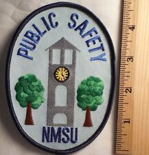 NEW MEXICO STATE UNIVERSITY PUBLIC SAFETY PATCH (HIGHWAY PATROL, SHERIFF, EMS)