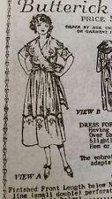 Vintage  Sewing Pattern- Deltor #2878 ***1916-1919***