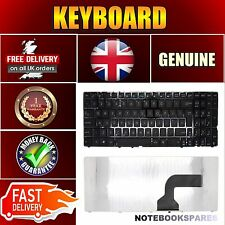 New ASUS N61JV-427 N61JV-JX007V New Matte Black Keyboard UK Layout No Frame