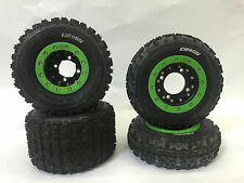 Hiper CF1 Beadlock Rims Maxxis Razr Cross Tires Front/Rear MX Kit Yamaha YFZ450R