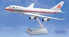 Cargolux Luxemburg Boeing 747-400F 1:250 FlugzeugModell NEU B747 Flight Miniatur