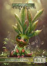 3x Plant #3 Custom Altered Tokens MTG (for Nissa, Voice of Zendikar)