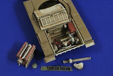 VERLINDEN PRODUCTIONS #2719 Engine Compartment for Tamiya Kit T-72 in 1:35