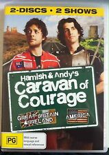Hamish & Andy's Caravan of Courage Great Britain Ireland USA (2 discs, VGC)