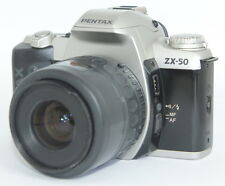 Pentax ZX-50 QD DATA BACK 35mm SLR Film Camera WITH 35-80MM LENS