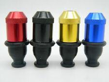 1Pc Metal Random Color Rubber Nipple Snuff Shape Sniffer Mini Smoking Pipe