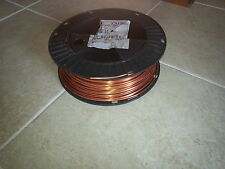 10 FT OF #6 GAUGE (AWG)BARE SOLID COPPER GROUND WIRE ART CRAFT  JEWELERY SCRAP