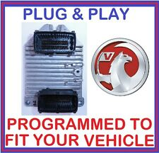 Vauxhall Opel ZAFIRA 1.8 Z18XE ENGINE ECU - 55351703 - 55 351 703 - PLUG & PLAY