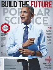 Popular Science March/April 2016 President Obama on Space Startups and Nerds