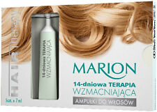 MARION AMPOULES FOR HAIR 14 DAYS STRENGTHENING THERAPY FOR WEAK DAMAGED HAIR