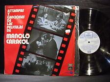 MANOLO CARACOL ' ESTAMPAS Y CANCIONES DE LAS PELICULAS ' LP VG++ / N.MINT