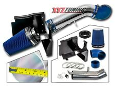 "4"" BLUE GMC/Chevy V8 4.8L/5.3L/6.0L Heat Shield Cold Air Intake System + Filter"