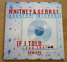 "WHITNEY HOUSTON+GEORGE MICHAEL+MEGARARE PROMO 12""+IF I TOLD YOU THAT+GAY+WHAM!"