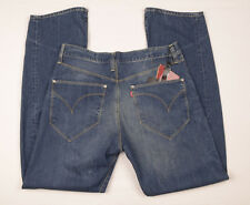 Mens Levi's Engineered Cinch-Back Twisted Jeans W34 L34 DENIM Strauss Loose £150