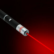 1mW Powerful Red Color Laser Pointer Pen Visible Beam Light High Power 532nm