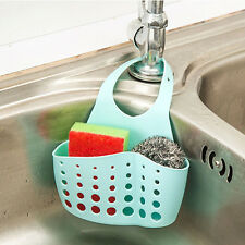 Portable Home Kitchen Hanging Drain Bag Basket Bath Storage Tools Sink Holder