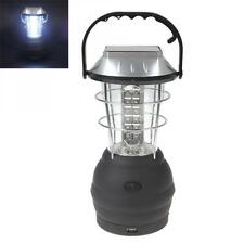 36 x LEDs Hand Crank / Solar Powered Rechargeable Camping Lantern for Outdoor