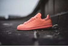 Adidas Stan Smith Adicolor Sz 10 Mens Reflective Sunglow Salmon Pink S80251