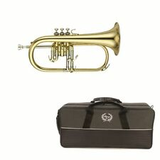 Legacy FH-750 Intermediate Flugelhorn Trupmpt Gold w/ Deluxe Convertible Case