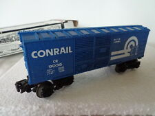 "LIONEL ""O"" AND ""027 GAUGE ROLLING STOCK CONRAIL BOX CAR CR9035"