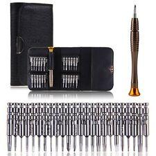 professional 25in1 Multi purpose Precision Screwdriver Wallet Set Repair Tools