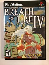 Breath of Fire 4 - Playstation - Replacement Case - No Game