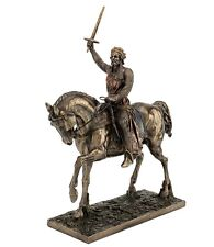 "13.75"" Richard The Lionheart Knight King Statue Sculpture Medieval Home Decor"